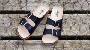 A women's sandals