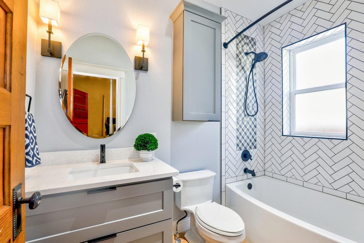 Trendy Bathroom Design Plans - house builders in Melbourne and homes design plans