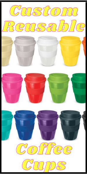 Custom Reusable Coffee Cups